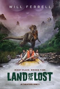 Land of the Lost Filmi Posterleri