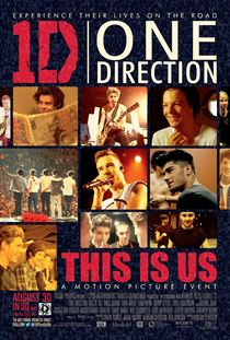 One Direction: This Is Us Filmi Posterleri