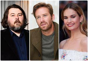 Ben Wheatley'in sinemaya yeniden uyarlayacağı Rebecca'nın başrollerinde Armie Hammer ve Lily James yer alacak