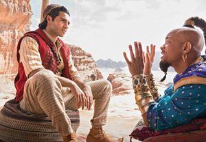 Guy Ritchie'nin yönettiği Aladdin'den Will Smith'in de yer aldığı yeni görseller yayınlandı
