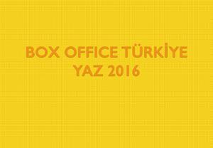 Box Office Türkiye - Yaz 2016 Raporu