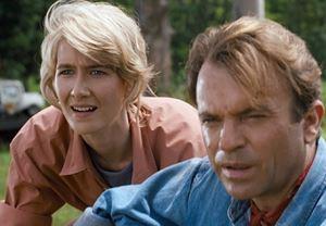 Jurassic Park'ta yer alan Laure Dern, Sam Neill ve Jeff Goldblum, Jurassic World 3'te rollerine geri dönüyor