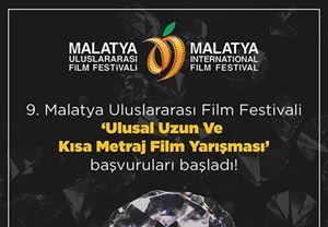 9. Malatya Uluslararası Film Festivali başvuruları için son tarih 5 Ekim!