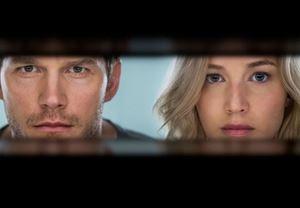 Jennifer Lawrence ve Chris Pratt'li Uzay Yolcuları'ndan ilk fragman!