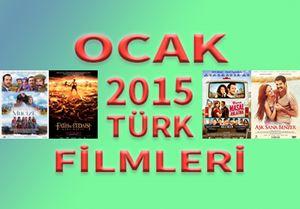 Ocak 2015 Türk Filmleri