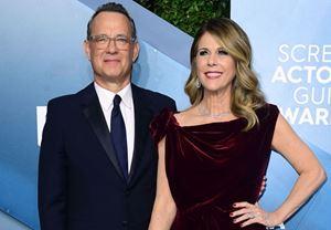 Ünlü oyuncu Tom Hanks ile eşi Rita Wilson, corona virüs pozitif olduklarını açıkladılar