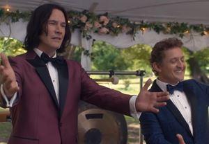 Keanu Reeves ve Alex Winter'ın başrollerini paylaştığı serinin üçüncü filmi Bill & Ted Face the Music'ten ilk fragman!