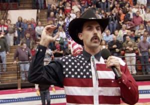 Sacha Baron Cohen, kült filmi Borat'ın devam filminin çekimlerini gizi bir şekilde tamamlamış