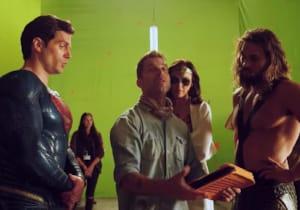 Zack Snyder's Justice League'den kamera arkası videosu yayınlandı