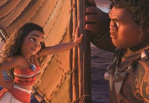 Box Office ABD: Disney'in yeni animasyonu Moana zirvedeki yerini koruyor