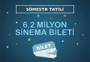 Box Office Türkiye: Sömestr tatilinde 6,2 milyon bilet satıldı