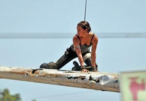 Alicia Vikander'li Tomb Raider'dan set fotoğrafları paylaşıldı