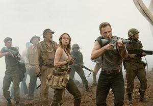 Box Office ABD: Kong: Kafatası Adası $61 milyonla zirveye yerleşti