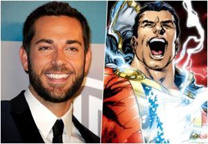 Zachary Levi, Shazam! ile DC Sinematik Evreni'ne katılıyor