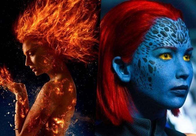 Merakla beklenen X-Men: Dark Phoenix'ten ilk görüntüler yayınlandı