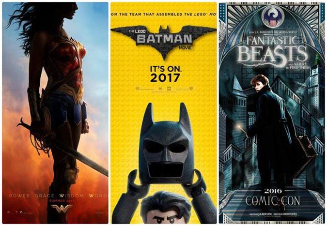 Comic-Con'dan Yeni Posterler: Wonder Woman, The Lego Batman Movie ve daha fazlası!
