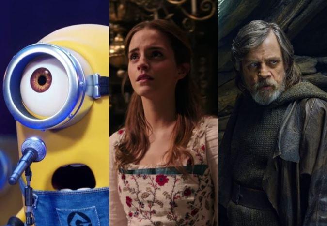 2017 yılının dünya genelinde en çok hasılat elde eden 20 filmi