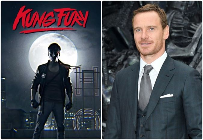 Michael Fassbender, uzun metraj Kung Fury filminin başrolünde yer alacak
