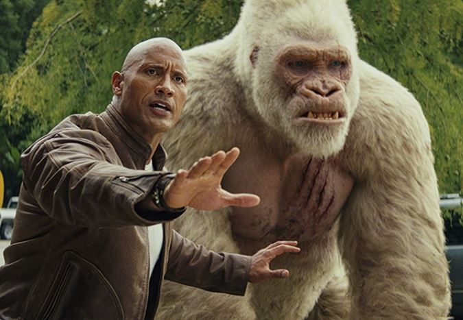 Box Office ABD: Rampage, $34,5 milyonla gişenin zirvesine yerleşti