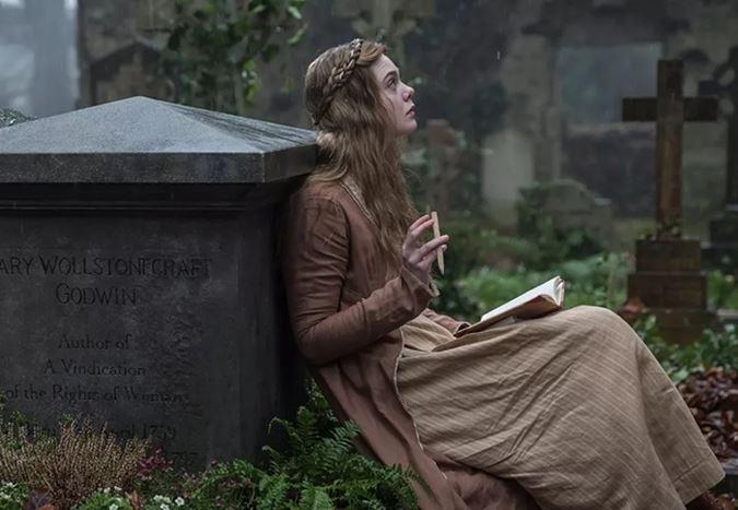 Elle Fanning'li Mary Shelley'den fragman yayınlandı