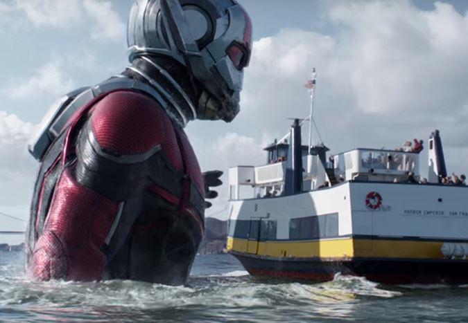 Paul Rudd ve Evangeline Lilly'nin başrollerinde yer aldığı Ant-Man and the Wasp'ten yeni fragman!