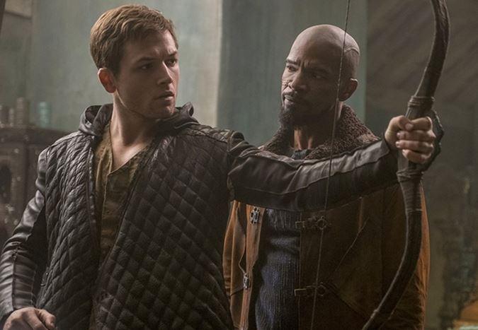 Taron Egerton ve Jamie Foxx'lu Robin Hood uyarlamasından fragman yayınlandı