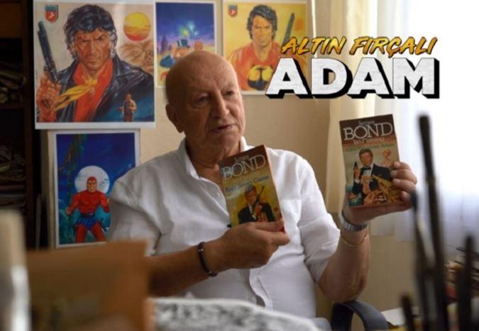 Çizgi roman kapaklarının usta çizeri Aslan Şükür'ü anlatan Altın Fırçalı Adam'ın gösterimleri devam ediyor