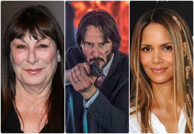 Halle Berry ve Anjelica Huston, John Wick 3'ün kadrosuna dahil oldu
