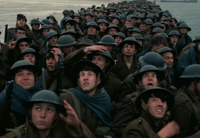 Christopher Nolan'ın merakla beklenen yeni filmi Dunkirk'ten ilk fragman!