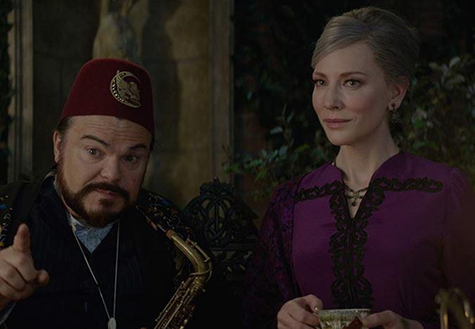 Cate Blanchett ve Jack Black'in başrolleri paylaştığı The House with a Clock in Its Walls'tan yeni fragman!