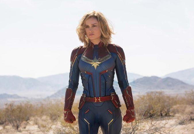 Brie Larson'lı Captain Marvel'dan yeni görüntüler yayınlandı