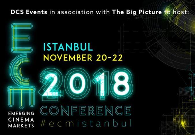 Gelişen Sinema Pazarları Konferansı, 20 - 22 Kasım 2018 tarihleri arasında İstanbul'da düzenlenecek