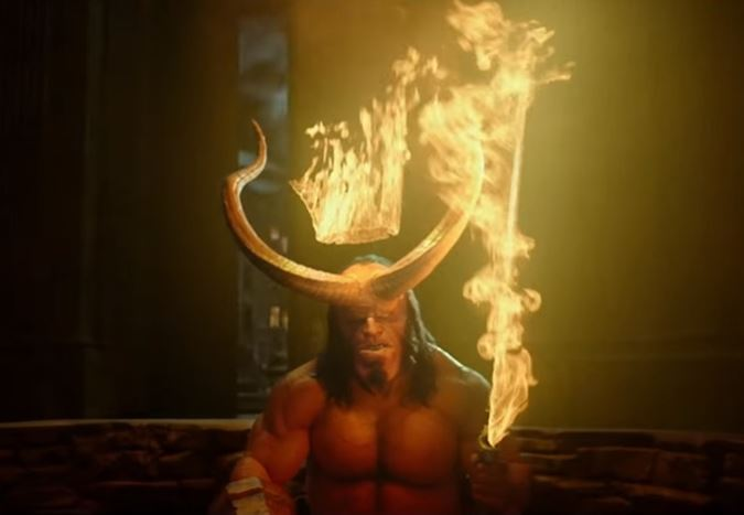 David Harbour'ın başrolünde yer aldığı yeni Hellboy uyarlamasından ilk fragman yayınlandı