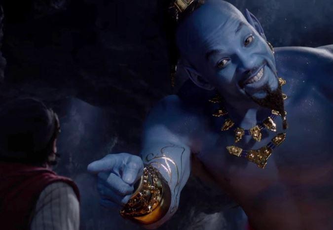 Will Smith'in oyuncu kadrosunda yer aldığı Aladdin'den yeni bir fragman yayınlandı