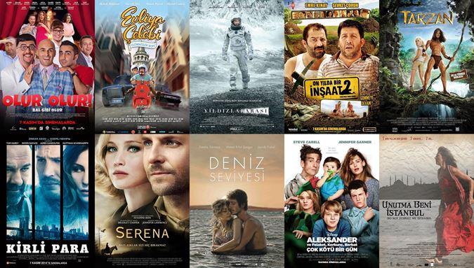 7 Kasım 2014 Filmleri