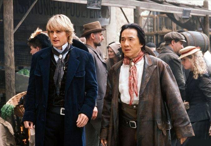 Jackie Chan ve Owen Wilson, Shanghai Dawn için yeniden bir araya geliyor