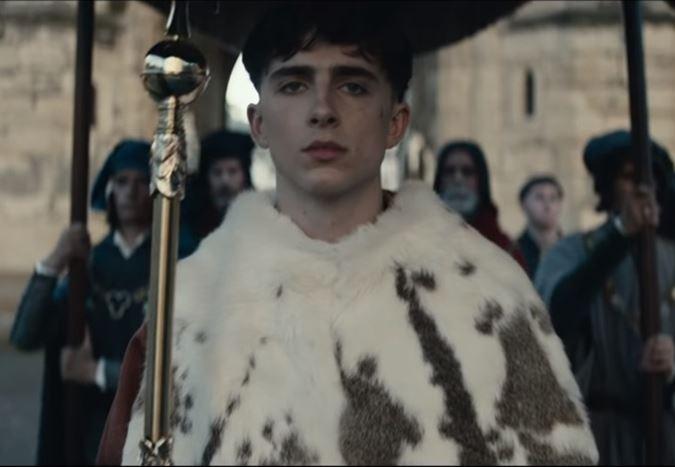 Timothée Chalamet'nin V. Henry'ye hayat verdiği The King filminden fragman yayınlandı