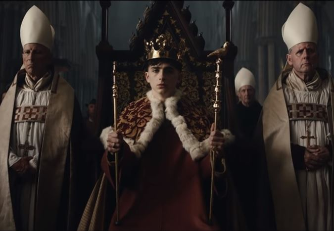 Timothée Chalamet ve Robert Pattinson'lı The King filminden son fragman yayınlandı