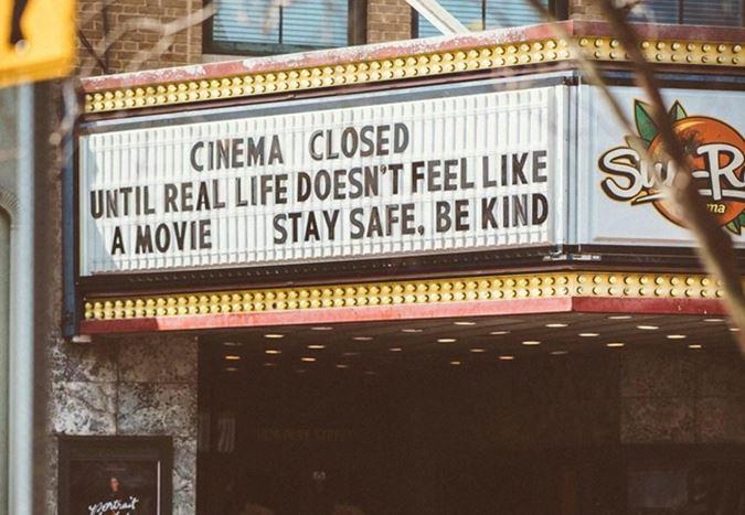 Salgının sinemadaki bilançosu: Yılın ilk çeyreğinde en büyük 10 pazarın gişe kaybı %59