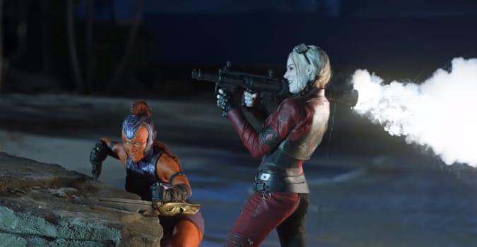 Margot Robbie, Viola Davis ve Idris Elba'lı The Suicide Squad'dan görüntülerin yer aldığı özel bir video yayınlandı