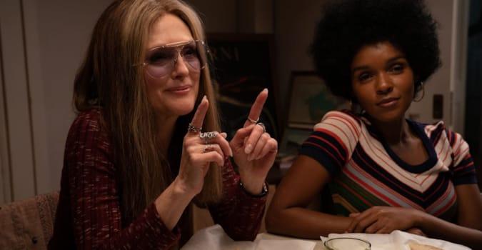 Julianne Moore ve Alicia Vikander'in Gloria Steinem'a hayat verdiği The Glorias filminden fragman yayınlandı