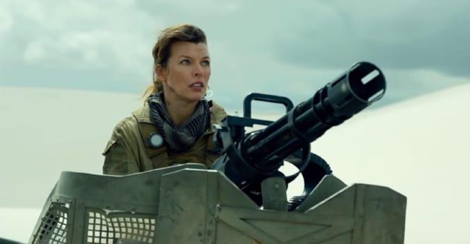 Milla Jovovich'li video oyun uyarlaması Monster Hunter'dan fragman yayınlandı