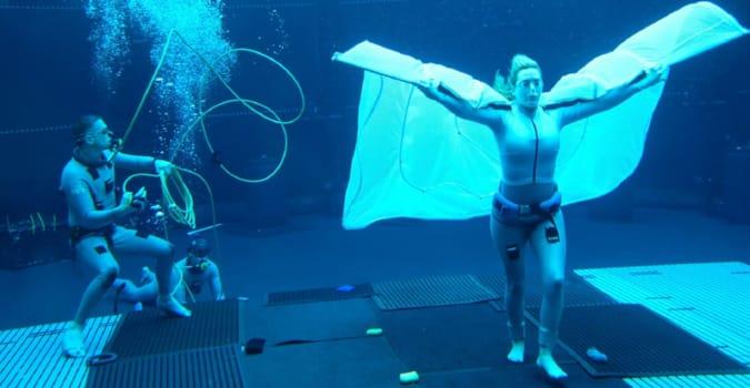 Avatar 2'nun sualtı çekimlerinden görsel yayınlandı