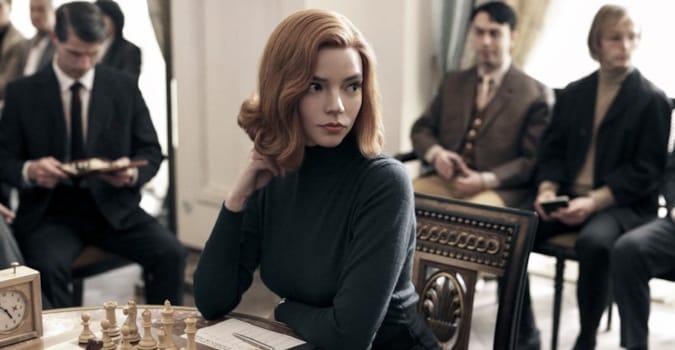 The Queen's Gambit'in yaratıcısı Scott Frank ile dizinin başrolü Anya Taylor-Joy, yeniden bir araya geliyor