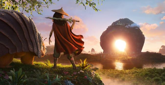 Disney'in yeni animasyon filmi Raya and the Last Dragon'dan fragman yayınlandı