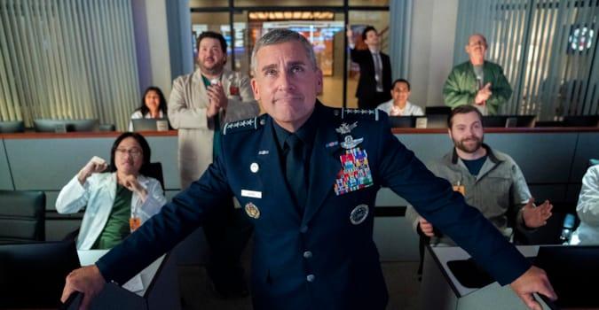 Space Force'un 2. sezon çekimleri mayıs ayında başlıyor