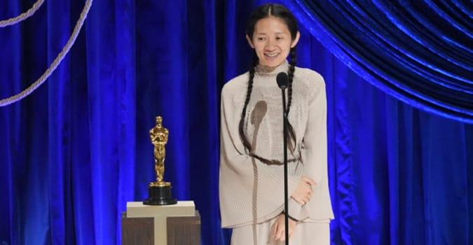 Chloé Zhao, Oscar tarihinde En İyi Yönetmen ödülünü kazanan ikinci kadın oldu