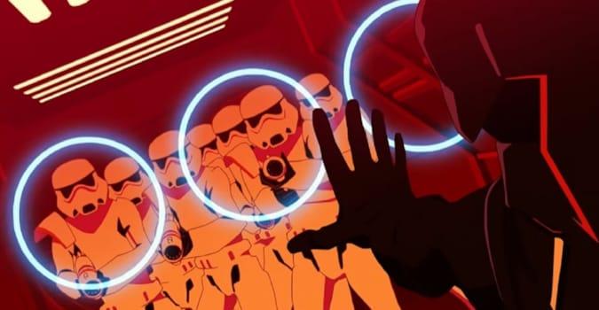 Star Wars evreninin dokuz farklı hikâyeden oluşan anime dizisi Star Wars: Visions'tan fragman!