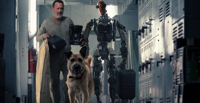 Tom Hanks'in başrolünde yer aldığı Finch'ten fragman yayınlandı