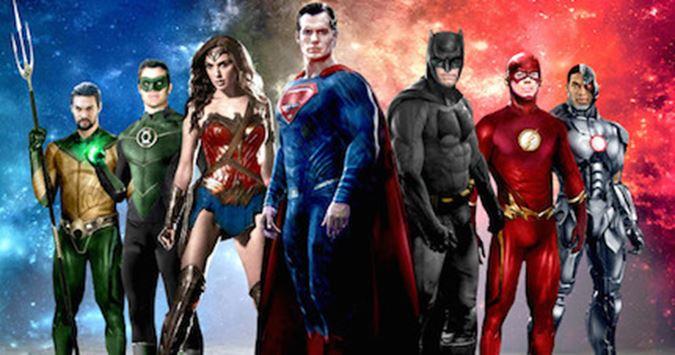 Justice League 1. Bölüm senaryosu bitti...